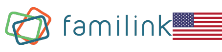 No Internet Required With The Familink Frame logo